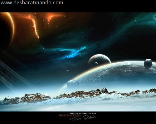 wallpapper desbaratinando planetas papeis de parede espaço planets space (4)