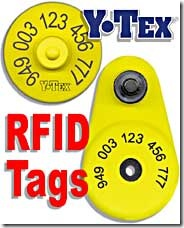 Y-Tex RFID Tag - Animal ID Systems