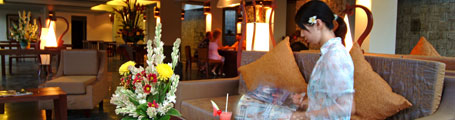 Lobby lounge Ramayana Hotel
