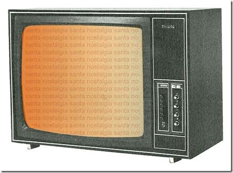 televisao antiga santa nostalgia