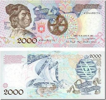 2000 escudos bartolomeu dias santa nostalgia