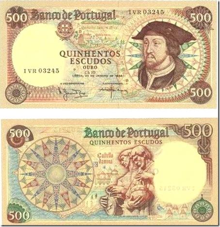 500 escudos d joao ii santa nostalgia