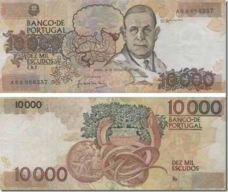 10000 escudos dr egas moniz santa nostalgia