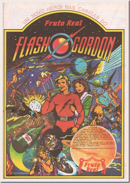 fruto real flash gordon santa nostalgia