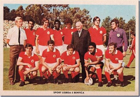 sport lisboa e benfica 1971 santa nostalgia
