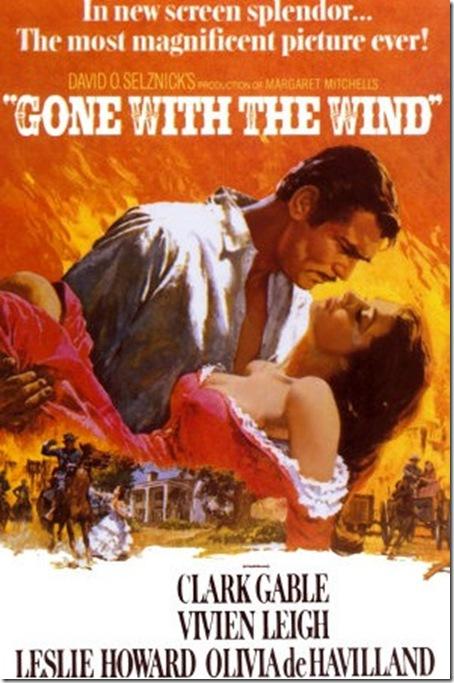 e tudo o vento levou cartaz