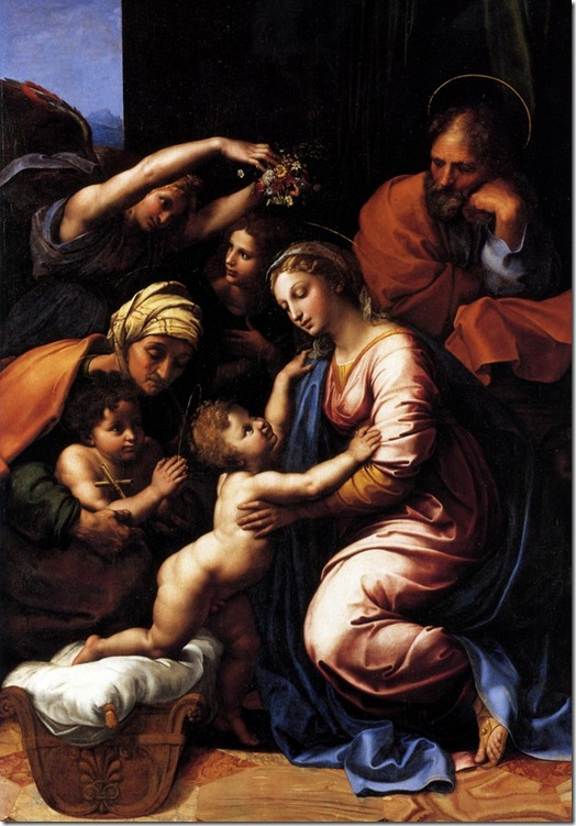 sagrada familia rafael