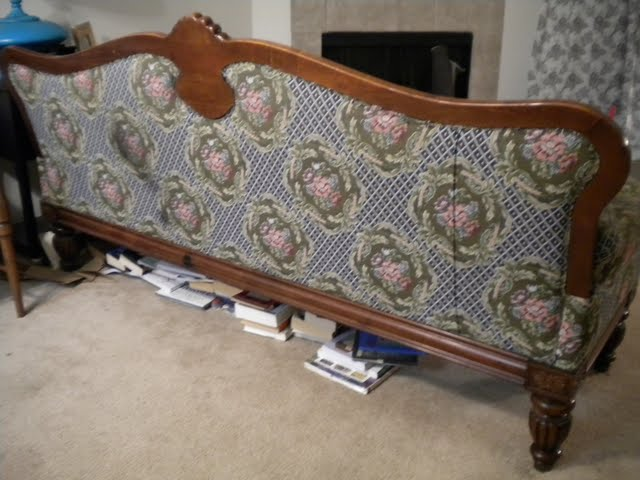 How To Recover A Settee Sofa The Style Sisters
