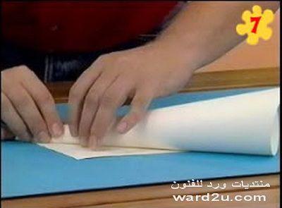 كيفية عمل قصر من ورق مقوى
