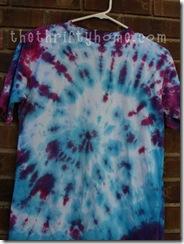 tie-dye spiral