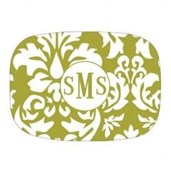 damask-green-platter