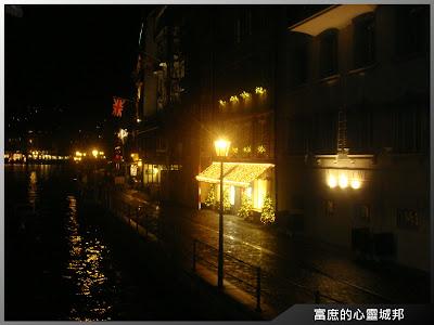 盧森夜晚街景