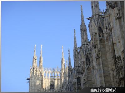 米蘭大教堂哥德式尖塔
