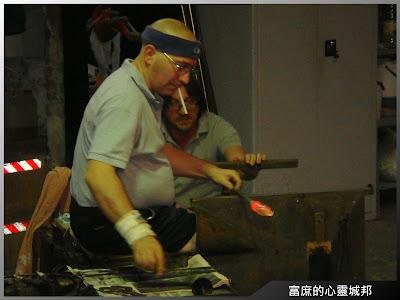 姆拉諾島的水晶玻璃工匠技師