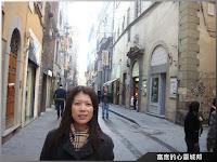佛羅倫斯充滿文藝復興氣息的街道
