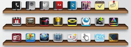 Iconos iPhone personalizados por Chykalophia