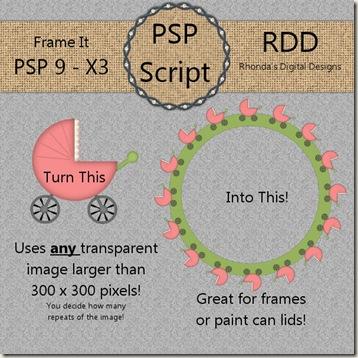 RDD-FrameItDisplay