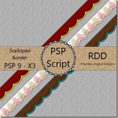 RDD-ScallopedRibbonBorderDisplay