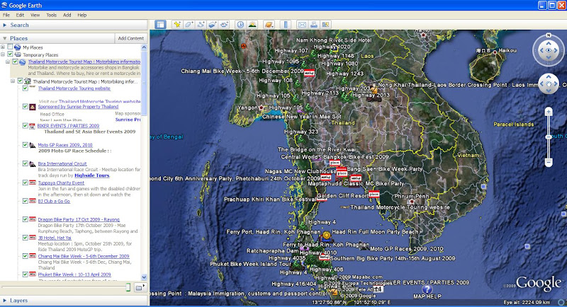 Google Online SE Asia Motorcycle Tourist Maps Asia Riding – Earth Map Online