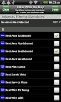 Screenshot of Rest Stops Plus