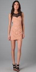 Bandage Lace Dress via shopbop