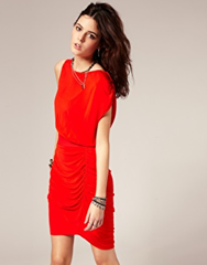 Red Dress via asos
