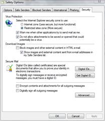 live mail image block
