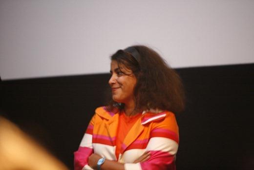 Marjane_Satrapi, autora de Persepolis