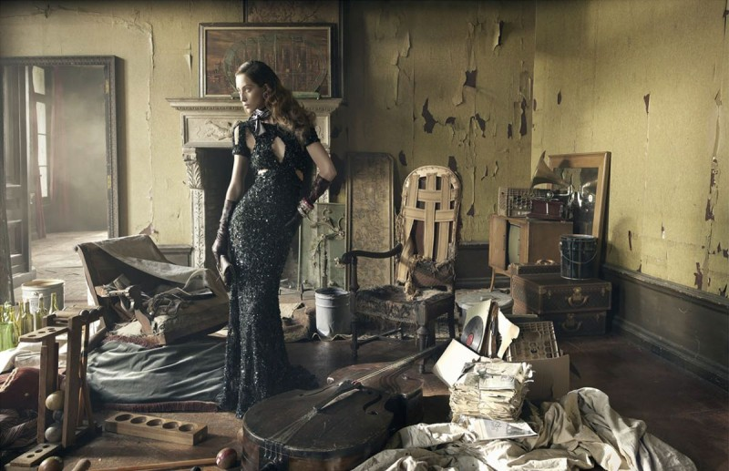Fashiontography Alana Zimmer By Mark Seliger El Sue O Eterno