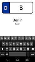 Screenshot of Kennzeichen D