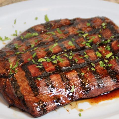 Grilled Teriyaki Flank Steak Recipes | Yummly