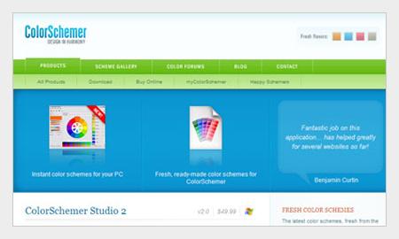 tips pemilihan warna untuk desain grafis menggunakan color schemer