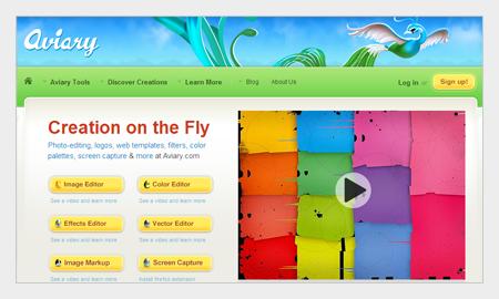 tips pemilihan warna untuk desain grafis menggunakan aviary