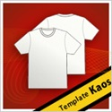 Template Design Kaos CorelDraw