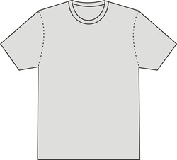 Template Design Kaos T-SHIRT Vector