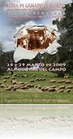 Cartel anunciador de la Feria de Marzo 2009, obra del fotógrafo almodovareño Jesús Monroy.