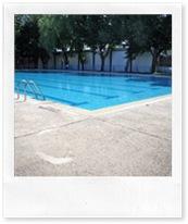 La piscina se encuentra ya preparada para acoger a los usuarios.