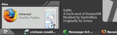 DeMx,windows style xp theme download,xp佈景主題vista,visual styles,xp佈景主題教學下載,桌面改造,桌面美化,破解xp佈景主題限制