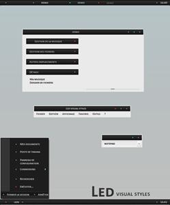 Led,windows style xp theme download,xp佈景主題vista,visual styles,xp佈景主題教學下載,桌面改造,桌面美化,破解xp佈景主題限制