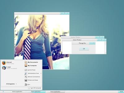 Celestial,windows style xp theme download,xp佈景主題vista,visual styles,xp佈景主題教學下載,桌面改造,桌面美化,破解xp佈景主題限制