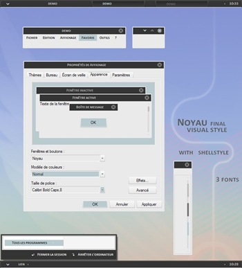 Noyau_visual_style,windows style xp theme  download,visual styles,xp佈景主題vista教學下載,桌面改造,桌面美化,破解xp佈景主題限制