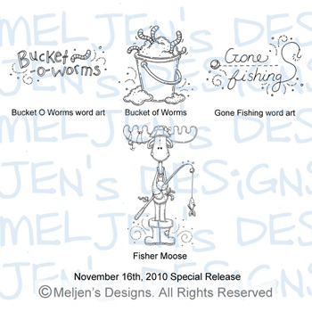Meljens Designs November 16th Special Release Display