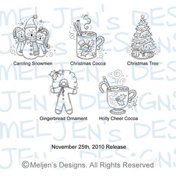 Meljens Designs November 25th Release Display
