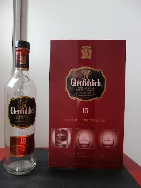 Nouveau et jeune amateur de Whisky Glenfiddich%2015%20years