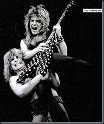 Ozzy and Randy Rhoades