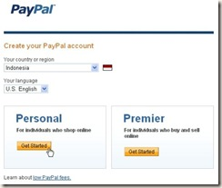 Sign Up Paypal 2