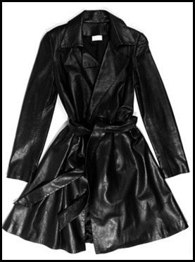 The Row Leather Trench