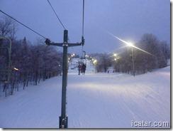 We enjoyed some night skiing!
