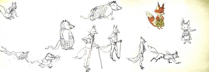 Fantastico sr. Fox concept art