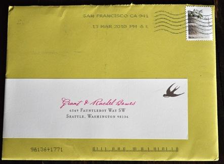Cindy envelope